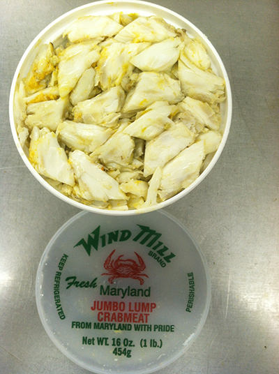 Are Jumbo lump crab meat was registered